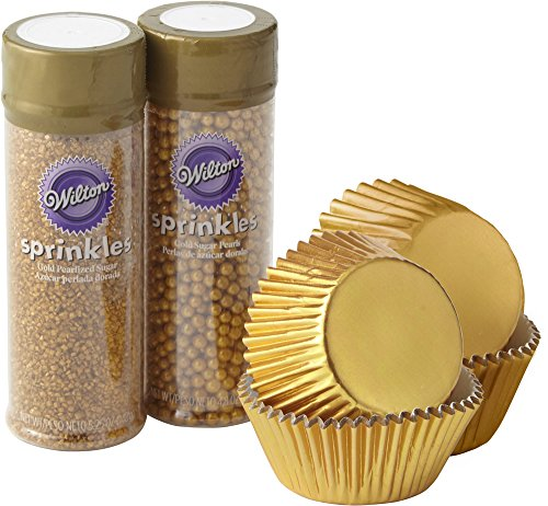 Wilton Sparkle and Shine Gold Cupcake Decorating Set Wilton Cupcake Recipe