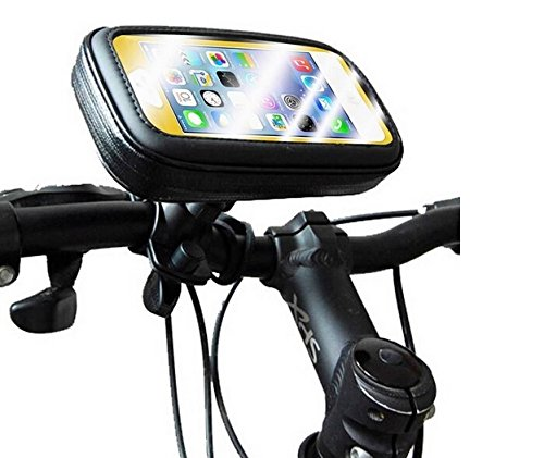 Montaje de la bici para Huawei Honor 6C, montaje del manillar para smartphones / teléfonos móviles, de aplicación universal. Conveniente para la bicicleta, motocicleta, quad, moto, etc. repelente al a