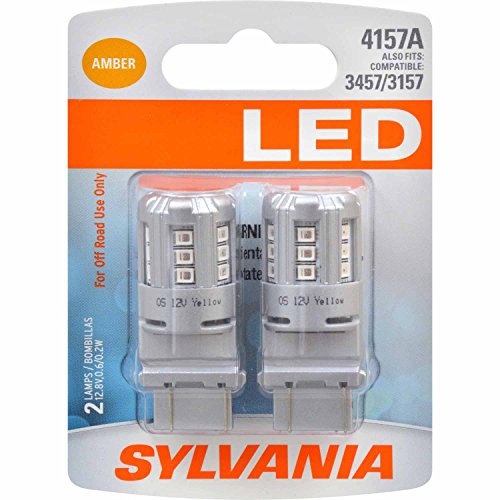 SYLVANIA 4157 Amber Contains Bulbs