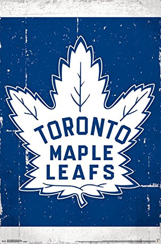 Trends International Toronto Maple Leafs Retro Logo Wall Poster 22.375