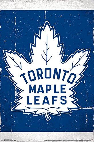 Trends International Toronto Maple Leafs Retro Logo Wall Poster