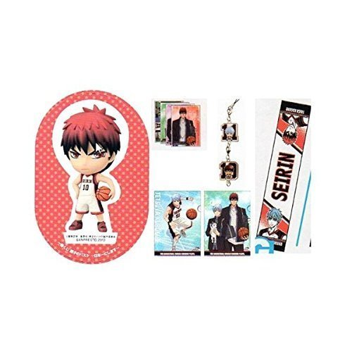 And in basketball in Japan of lottery Kuroko most fire [God] set B G H I J Award (japan import) by Banpresto by Banpresto