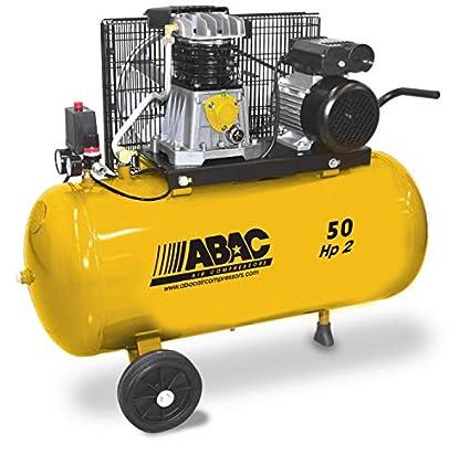 Abac – Compresor de pistones Lubrifié 50L 10 bar 2 CV 13,2 M3/
