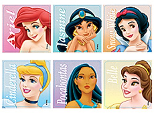Princess Classic Stickers (Roll of 100)