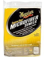 Meguiar's X2025 Supreme Shine Microfiber Towels, 6 Pack , Yellow