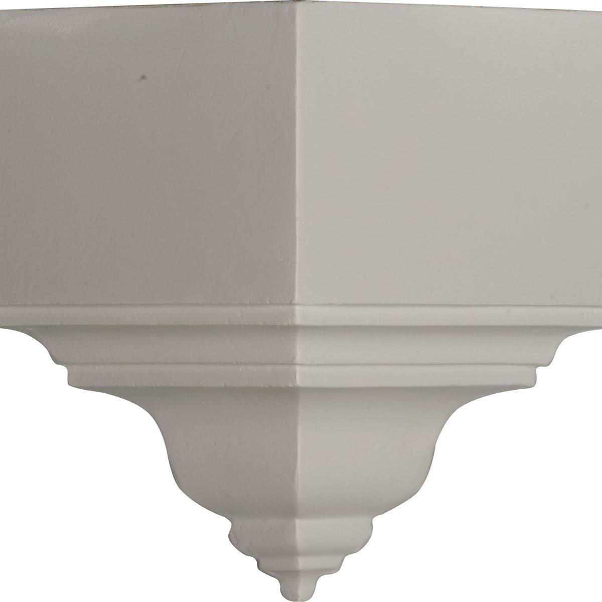 Ekena Millwork MOC03X03BI 3 1//8 P X 7 3//4 H Outside Corner for Molding Profiles Less Than 3 1//8 P and 3 7//8 H