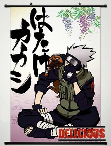 Home Decor Japanese Anime Naruto Cosplay Wall Scroll Poster
