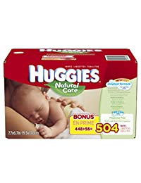 Huggies Natural Care Baby Wipes, Refill, 504 Count BOBEBE Online Baby Store From New York to Miami and Los Angeles