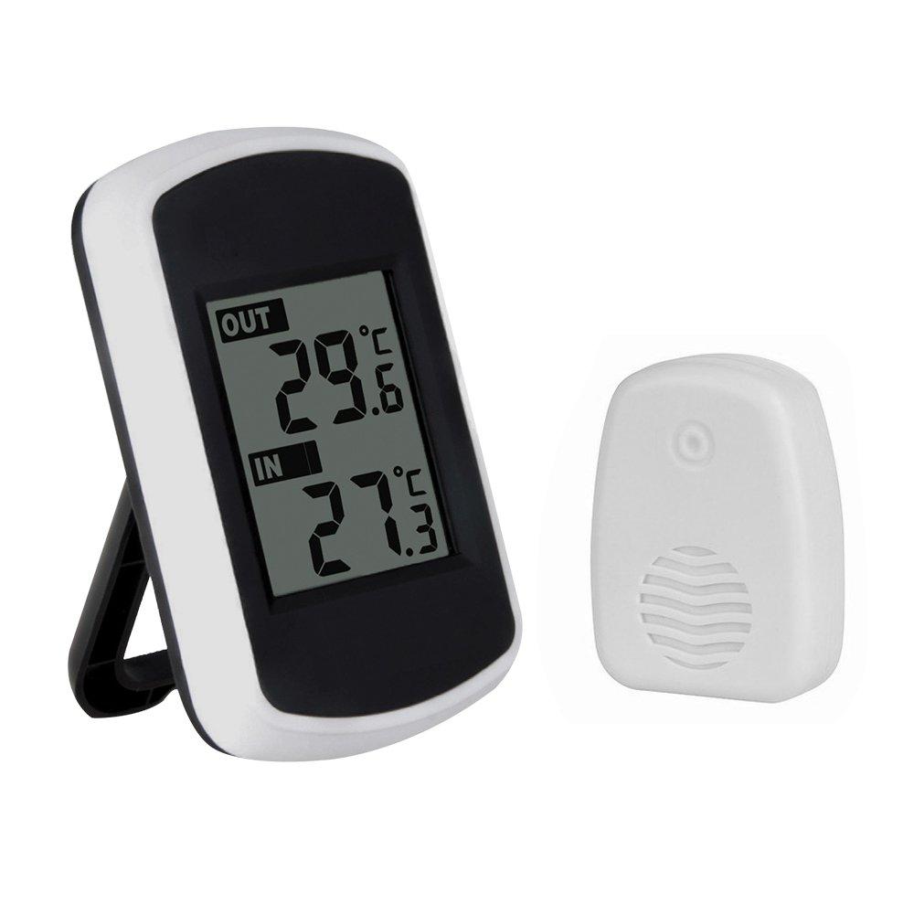 LCD wireless digitale stazione meteo termometro esterno dell'interno sensore di temperatura Previsione HS851 XCSOURCE