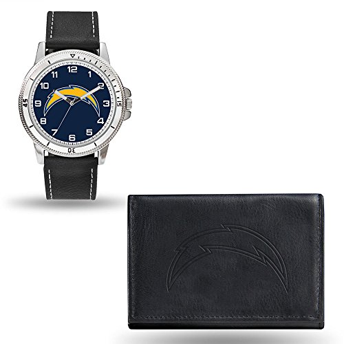 Rico NFL Men's Watch and Wallet Set WTWAWA3401, San Diego Chargers