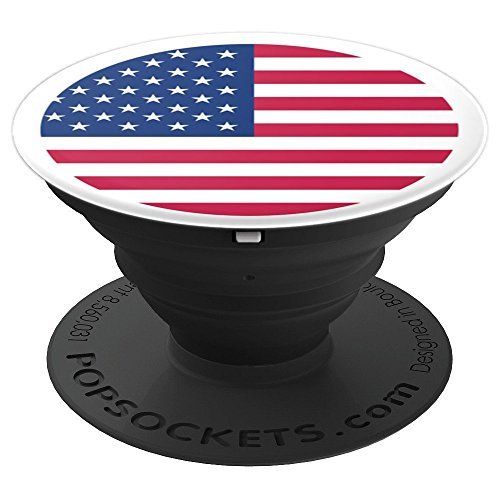 American US Flag USA Patriotic Old Glory Freedom - PopSockets Grip and Stand for Phones and Tablets
