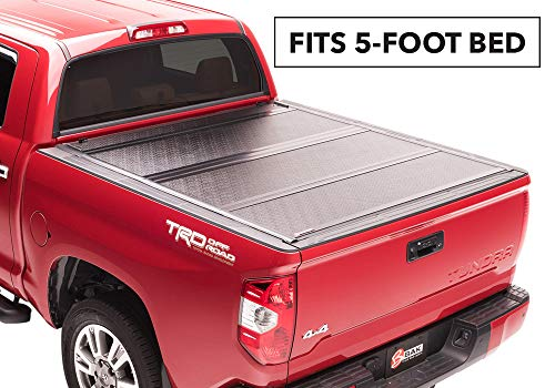 BAKFlip G2 Hard Folding Truck Bed Tonneau Cover | 226426 | fits 2016-19 Toyota Tacoma 5' bed ()