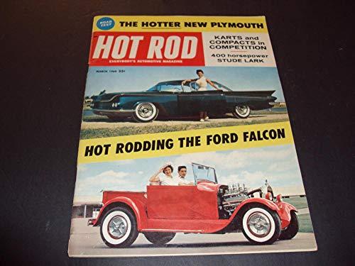 - Hot Rod Mar 1960 Hot Rodding The Ford Falcon