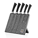 Cheap Stainless Steel Knives Magnetic – Kricson 6 Piece Kitchen Knife Set Granite Coated with Magnetic Knife Block Holder