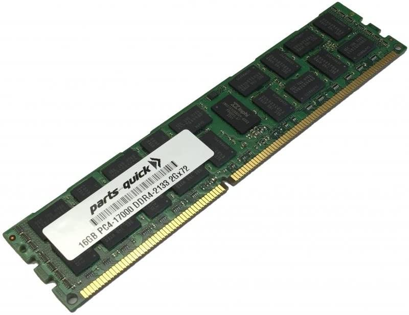 PARTS-QUICK Brand 16GB Memory for Quanta MC510 Compute Blade DDR4 PC4-17000 2133 MHz RDIMM RAM