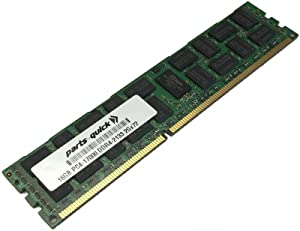 16GB Memory for Dell PowerEdge T430 DDR4 PC4-17000 2133 MHz RDIMM RAM (PARTS-QUICK Brand)