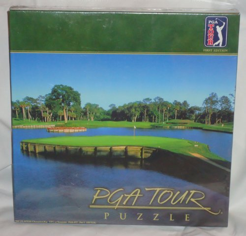 pga tour puzzle, 500 pieces