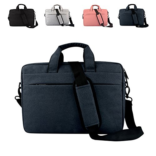 DREAM.ELK Laptop Briefcases 13.3-15.6 Inch Messenger Bag Handbag Include shoulder strap Sleeves Shoulder Bags Men Women for Business Notebook Laptop Computers Tablet,15.6 Inch,Deep Blue