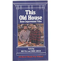 This Old House: Home Improvement Video [VHS]