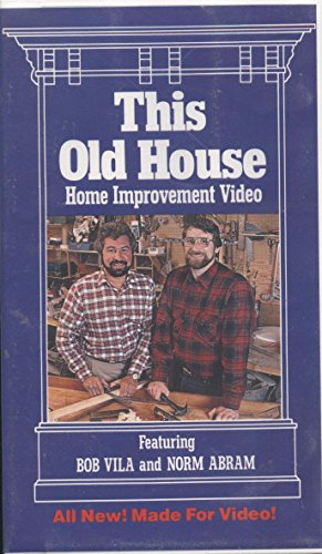 This Old House  Home Improvement Video  Vhs