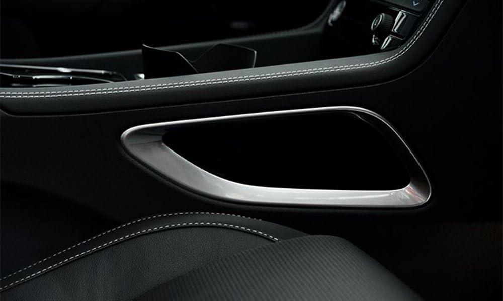 Matte Steering Wheel Bottom U Shape Cover Trim for Jaguar F-Pace X761 2016-2019