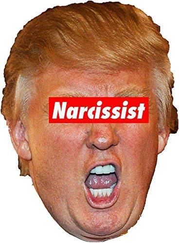 "Amazon.com: MAGNET Trump MAGA GOP 2020 Narcissist Magnet Decal Fridge Metal  Magnet Window Vinyl 5"": Kitchen & Dining"