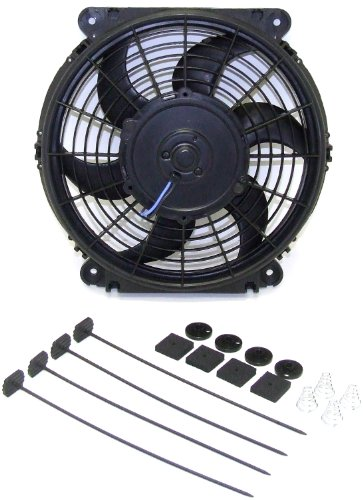 Fan 1998 Nissan 200sx - Hayden Automotive 3670 Rapid-Cool Thin-Line Electric Fan