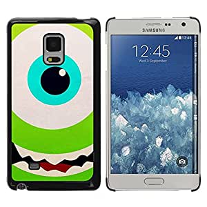 Paccase / SLIM PC / Aliminium Casa Carcasa Funda Case Cover - Green Eye Happy Kids Cartoon - Samsung Galaxy Mega 5.8 9150 9152