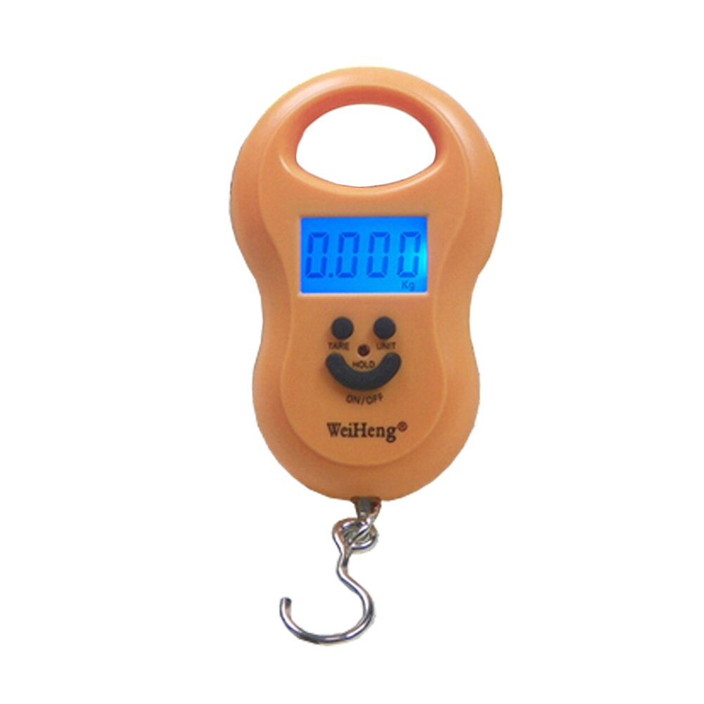 Smart Weigh 50kg/110LB Portable Luggage Scale Travel Hanging Scale,D