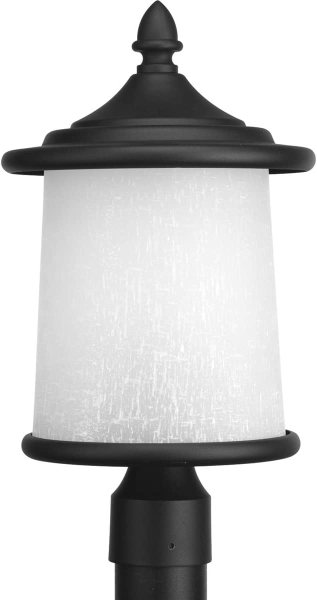 Progress Lighting P6412-31 Traditional Casual 3-60W Cand Post Lantern, Black