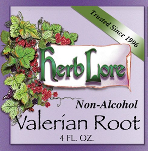 Valerian Root Tincture - Natural Sleep Aid for Adults - Valerian Drops for Relaxation and Deep Sleep - Non Alcohol - 4 Ounces - Herb Lore