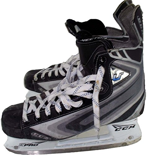 Wojtek Wolski Skates - NYR 2010-2011 Game Worn #86 CCM (#8 on Back) Hockey Skates