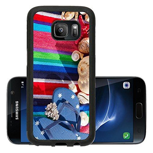 Liili Premium Samsung Galaxy S7 Aluminum Backplate Bumper Snap Case blue flip...