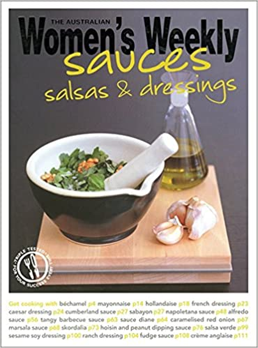 Sauces, Salsas and Dressings (