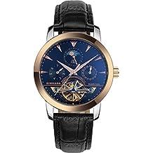 BINKADA Men's Novelty Date Week Moon Pase Automatic Mechanical Watch #705602-4