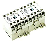 GE CR6VBA3B REVERSING MAGNETIC CONTACTOR FITS SPRECHER SCHUH CAU3-9-01-120-NO 120V AC COIL DIN RAIL MOUNT