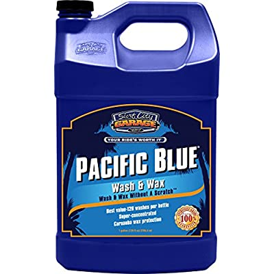 Surf City Garage 291 Pacific Blue Wash and Wax, 1 Gallon: Automotive