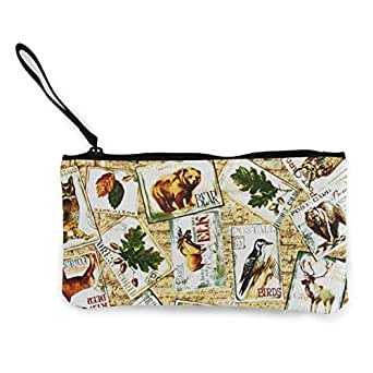 Amazon.com: Animal Silhouette - Estuche para lápices de ...