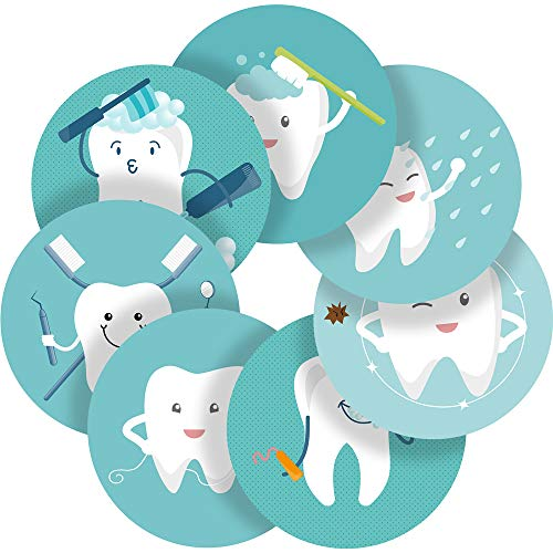 Dental Care Reward Sticker Labels, 70 Stickers @ 1