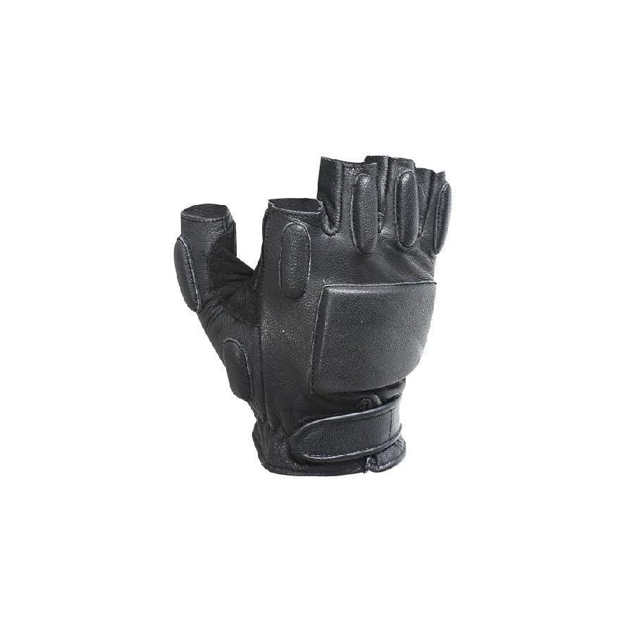 VooDoo Tactical 06 8185001094 Rapid Rapel Gloves (Half Finger), Black, Large