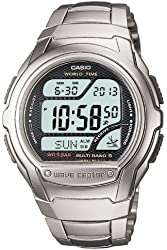 CASIO watch WAVE CEPTOR Waveceptor digital model of the radio clock MULTI BAND5 WV-58DJ-1AJF mens watch