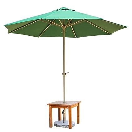 GEXING-Umbrella Paraguas,Paraguas De La Columna Paraguas del Sol Al Aire Libre Paraguas