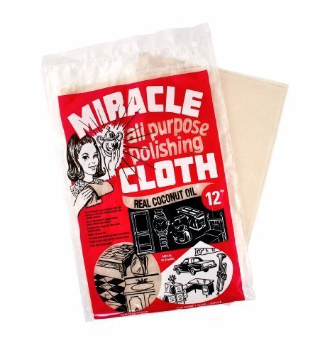 Miracle Cloth Extra Large All Purpose Polishing Towel 9x12 Real Coconut Oil - Polishing Oil