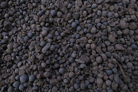 Cierre negro granulado, turba granulado, 3, 5-8, 0 millimeter,
