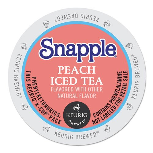 Snapple Peach Tea K-cups, 22-count