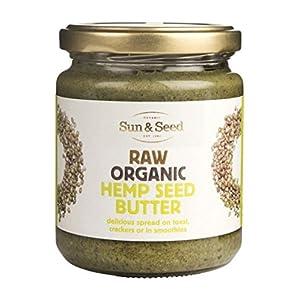 SUN & SEED Raw Organic Hemp Seed Butter 250g (...