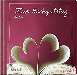 Geschenkbuch Zum Hochzeitstag Alles Gute 16 X 16 5