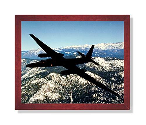 USAF U2 Spy Plane Jet Airplane Picture Framed Art - U2 Pictures Plane Spy