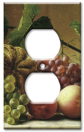 Art Plates - Hetzel: Fruit Still Life Switch Plate - Outlet Cover