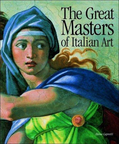 The Great Masters of Italian Art (Table Coffee Elena)
